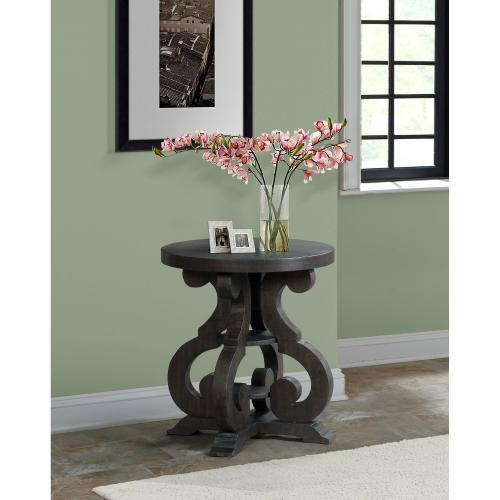 Product Image - Stone End Table w/ PU Base
