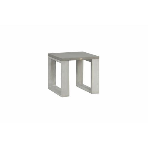 Ratana - Element 5.0 Side Table w/Aluminum Top