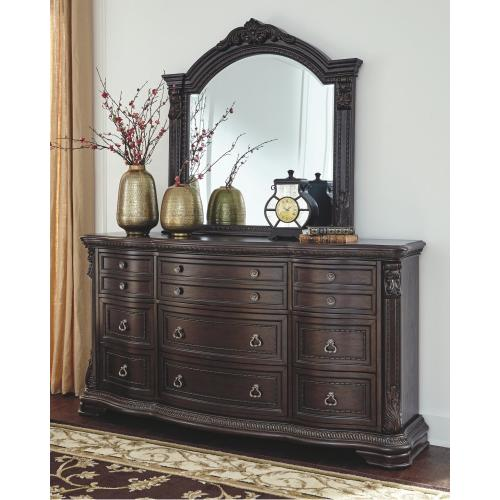 Wellsbrook Dresser and Mirror