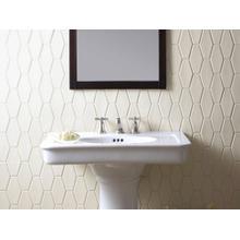 See Details - Pedestal Sink - Stucco White