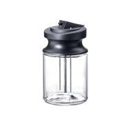 MB-CVA 6000 - Milk container made of glass Latte Macchiato and Cappuccino whenever you want!