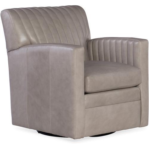 Bradington Young Barnabus Swivel Chair 8-Way Hand Tie 406-25SW