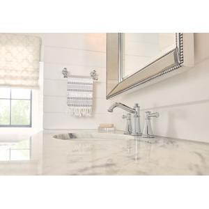 Belfield chrome hand towel bar