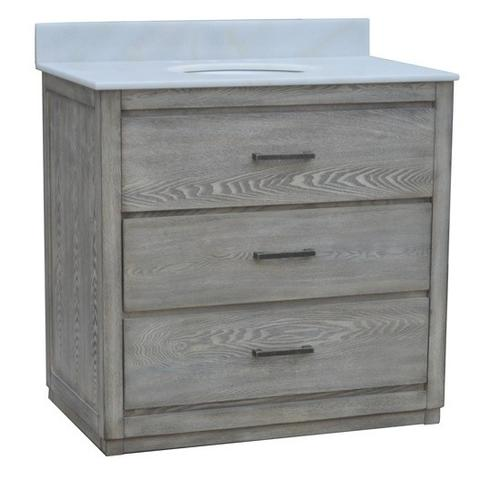 "See Details - Richmond 2 Drawer 36"" Vanity Sink"