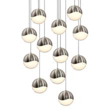 Grapes® 12-Light Round Large LED Pendant
