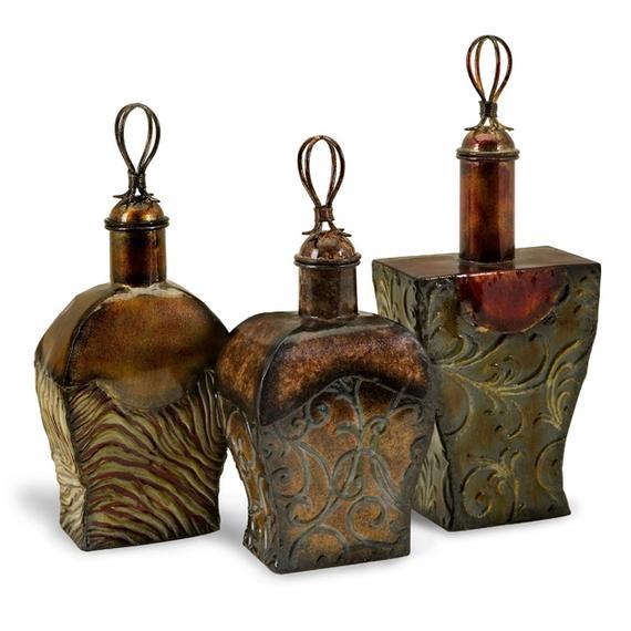 Transition Metal Bottles - Set of 3