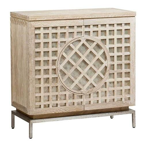 Uttermost - Lattice Cabinet