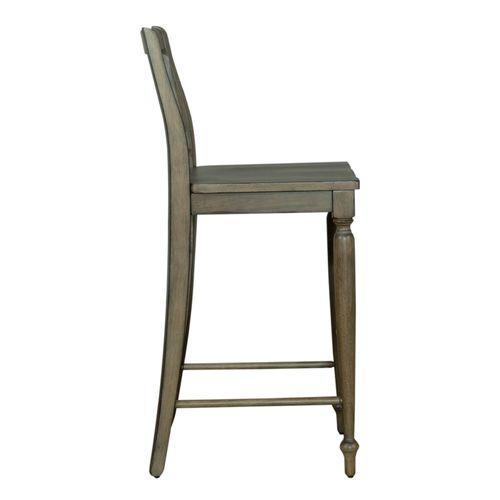 Liberty Furniture Industries - Slat Back Barstool (RTA)