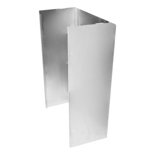Wall Hood Chimney Extension Kit, 9ft -12 ft. - Stainless Steel