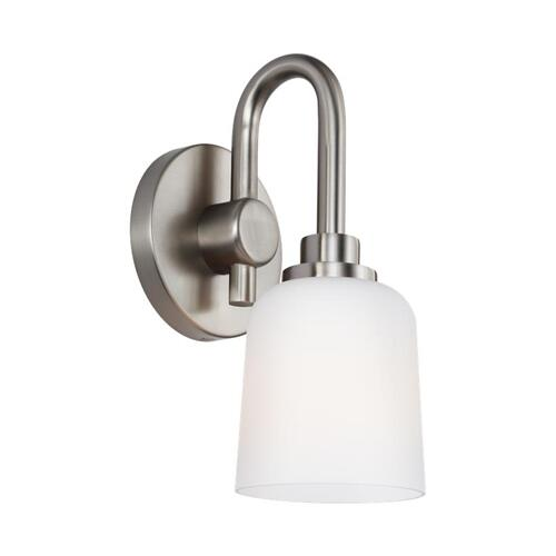 Reiser 1 - Light Sconce Satin Nickel