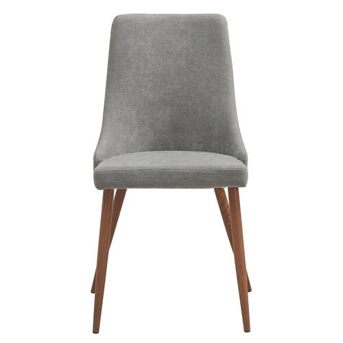 Cora Side Chair, set of 2 in Grey