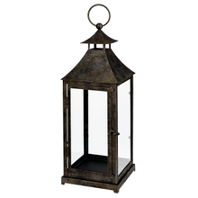 Antique Bronze Metal Lantern