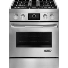 "Pro-Style® 30"" Dual-Fuel Range with MultiMode® Convection, Pro-Style® Stainless Handle"