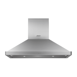 "Dacor42"" Chimney Island Hood, Silver Stainless Steel"