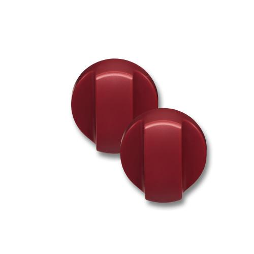 990193250-Countertop Oven Knobs - Red