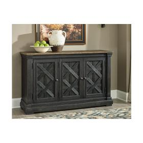 Tyler Creek Dining Room Server Black/Gray