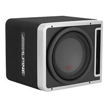 "Single 12"" Alpine Halo R-Series Preloaded Subwoofer Enclosure with ProLink """