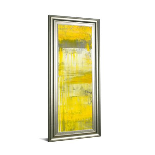 """""""Mellow Yellow Il"""" By Erin Ashley Framed Print Wall Art"""