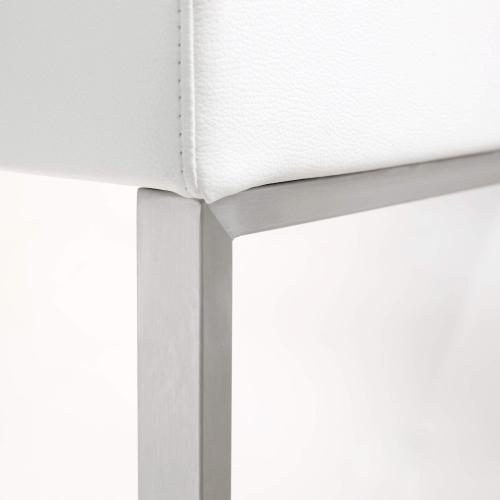 Tov Furniture - Denmark White Steel Barstool (Set of 2)
