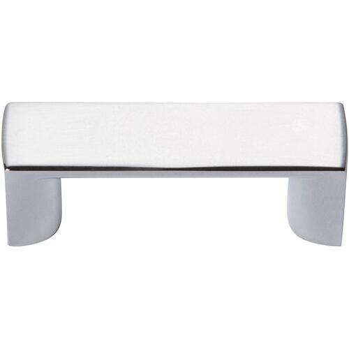 Tableau Squared Pull 1 7/16 Inch (c-c) - Polished Chrome