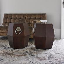View Product - Hexagonal Accent Table - Dark