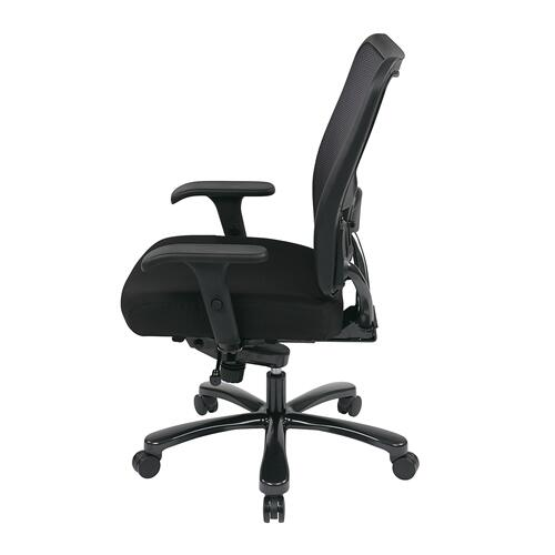 Big & Tall Double Airgrid® Back and Custom Fabric Seat Ergonomic Chair