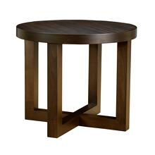 Logan Round Lamp Table