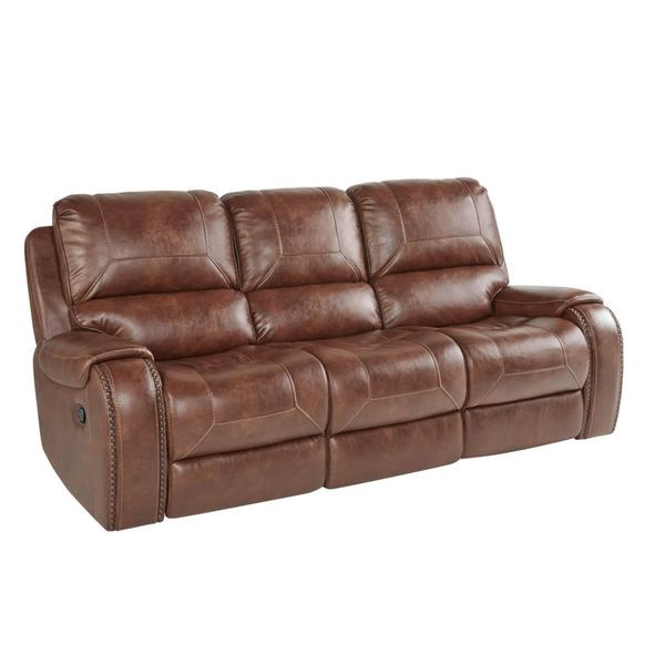 Keily Manual Motion Recliner Sofa w/Dropdown Table