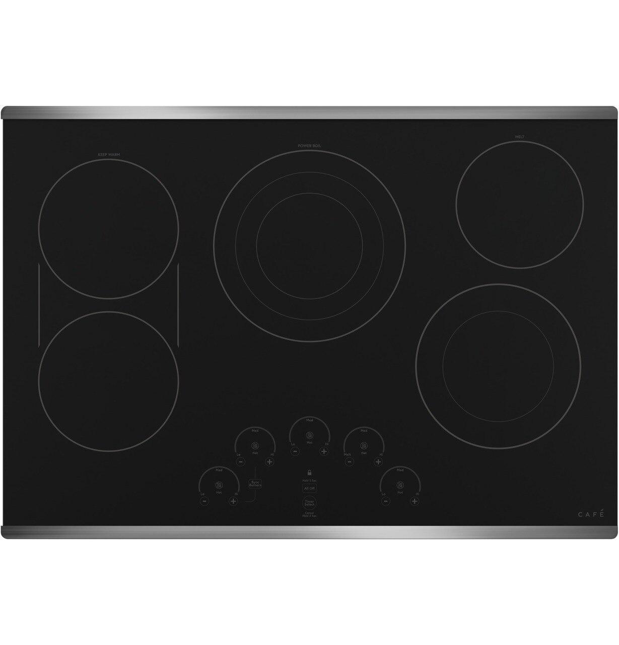 """Cafe AppliancesCafé™ 30"""" Touch-Control Electric Cooktop"""