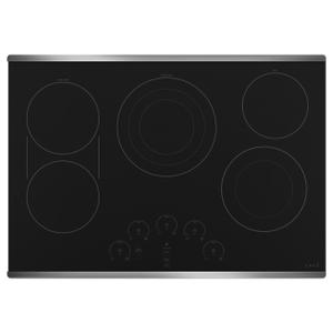 """Cafe Appliances30"""" Touch-Control Electric Cooktop"""
