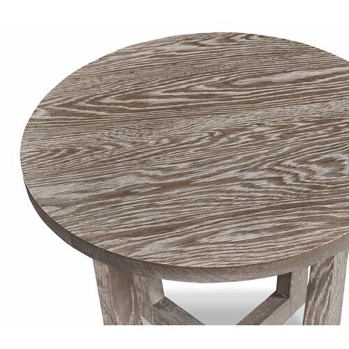 Bassett Furniture - Liam Oak Round End Table