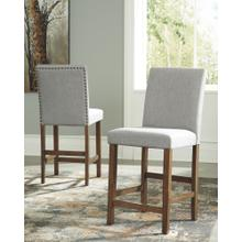 Upholstered Barstools Set of 2