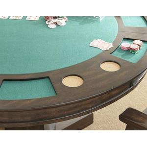 Ruby 5 Piece Game Table Set (Game Table & 4 Captain's Chairs)