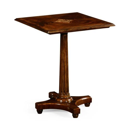 William IV style mahogany side table