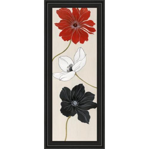 """Elegante Trio I"" By Tava Studios Framed Print Wall Art"