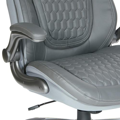 Deluxe Bonded Leather Executive Chair
