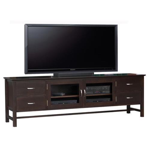 "Brooklyn 84"" HDTV Cabinet With Hutch"