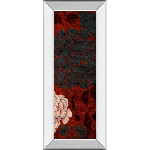 """Classy Art - """"Eliose"""" By Elizabeth Medley Mirror Framed Print Wall Art"""