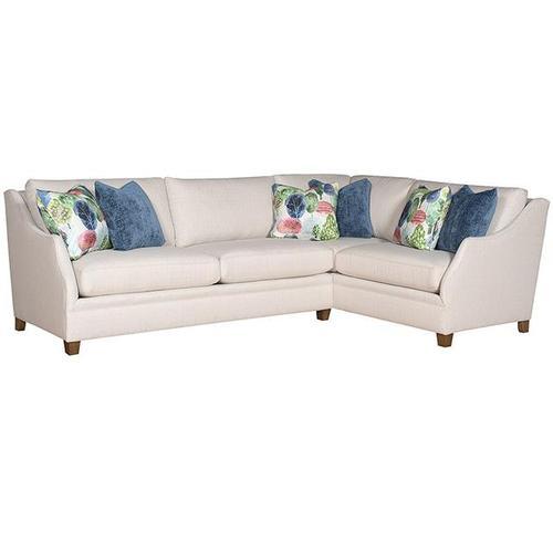 Brandy LAF One Arm Sofa, Brandy RAF Corner Loveseat