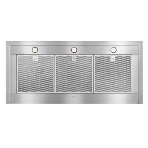 """48"""" Brushed Stainless Steel Wall Mount Chimney Hood with Internal 1200 CFM Blower"""