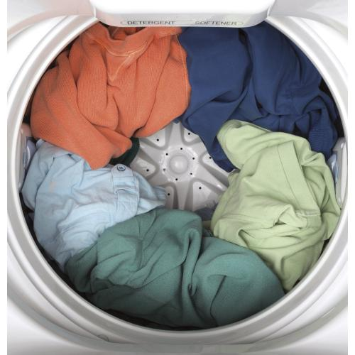 GE Space-Saving Portable Washer with Stainless Steel Basket - 3.3 cu.ft. IEC