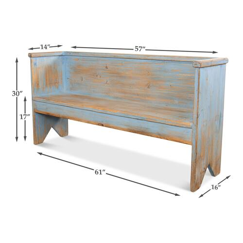 Beach House Bench