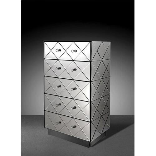 Modrest Segovia - Modern Mirrored Bedroom Chest