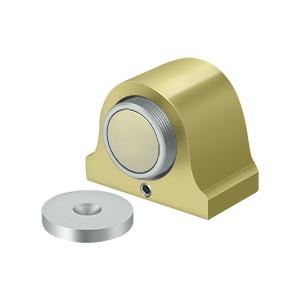 Magnetic Dome Stop - Polished Brass