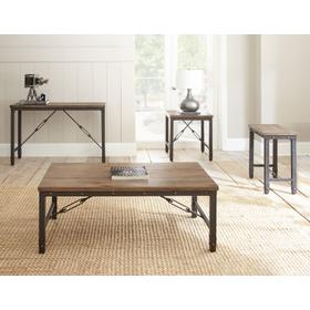 Jersey 3-Piece Set(Cocktail & 2 End Tables)