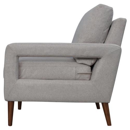 Xavie KD Fabric Accent Arm Chair, Havana Linen