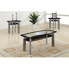 Virgie 3pc Coffee Table Set