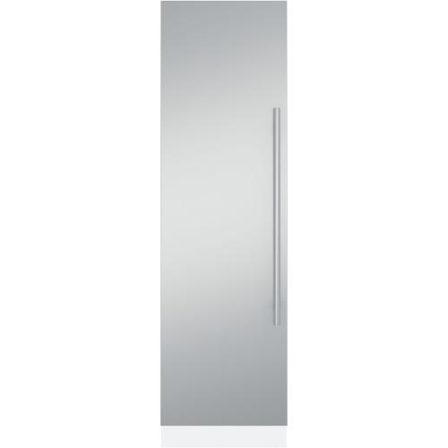 """24"""" Fully Integrated Refrigerator or Freezer- Euro Stainless Panel LH"""