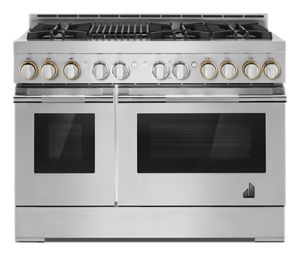 """RISE™ 48"""" Gas Professional-Style Range with Grill"""