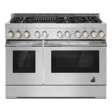 """See Details - RISE™ 48"""" Gas Professional-Style Range with Grill"""